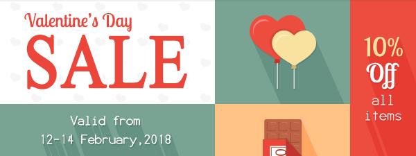 Happy Valentine's Day SALE!