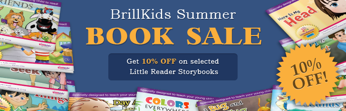 BrillKids Summer Book Sale!