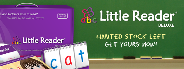 Limited Stock On Little Reader Deluxe Kits!