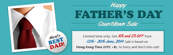 BrillKids Father's Day Countdown Sale!