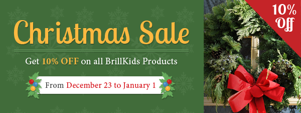 BrillKids CHRISTMAS SALE!