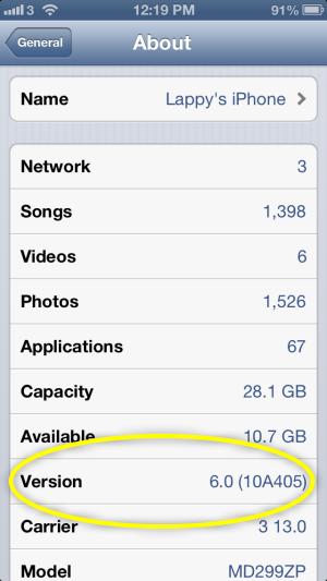версии Ios для Iphone - фото 7